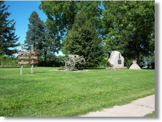 Cannon Park in Nashua Iowa.Located in Northeast Iowa